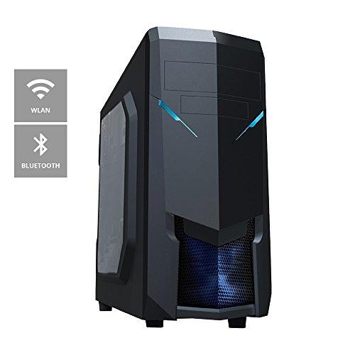 one Multimedia-PC AMD A-Serie A4-4020, 2x 3.20 GHz (Dual Core) · 8 GB DDR3-RAM · 2000 GB HDD · BLU-RAY Brenner · ASRock FM2A88M-HD+ · Cardreader · WLAN · Bluetooth · 1 GB AMD Radeon HD 8350 (Passiv) HMDI, DVI, VGA · 7.1 Sound · LAN