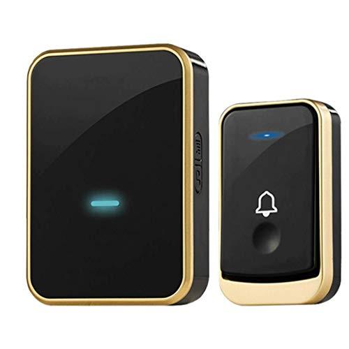 CXXDD Video Wireless Timbre de la Puerta, Free Cloud Smart Storage Timbre de la Puerta con el carillón, la cámara de WiFi de Seguridad, de Dos vías de conversación