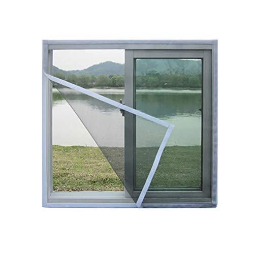 Alsgon Raamhor, magneet, wit, voor ramen en deuren, vliegengaas, keuze uit verschillende kleuren, bescherming tegen muggen
