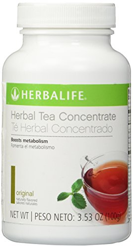 Herbalife Thermojetics Herbal Tea Beverage 50gm (Original) - For Inch Loss, Lose Weight Faster…