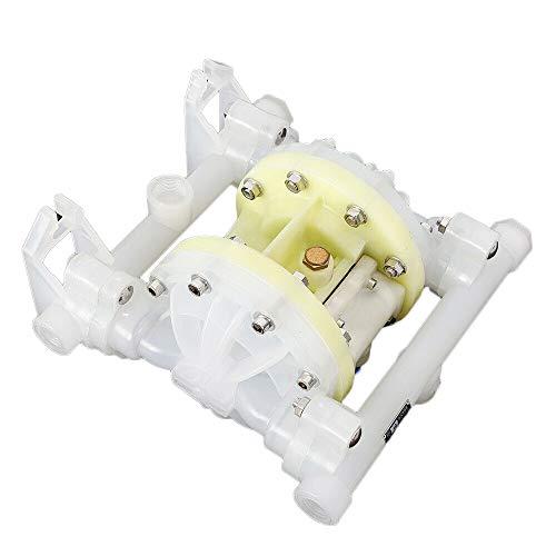 Diaphragm Pump HaroldDol Membranpumpe Druckluftbetriebe Heavy Duty Doppelmembranpumpe Duable Air Pneumatic 100PSI 1/2 Zoll