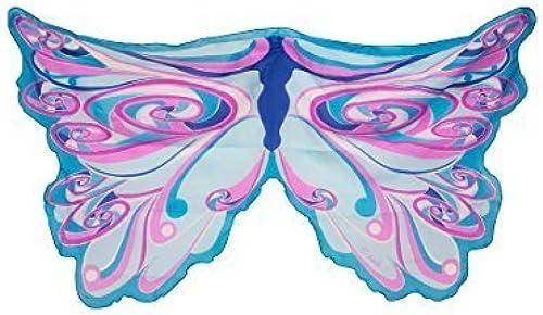 Wings Fairy Rainbow bleu by Dreamy Robe-Ups