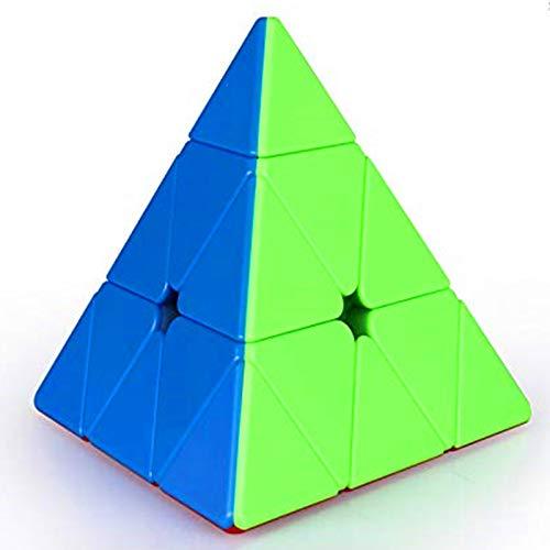 CuberSpeed QiYi MS pyraminx Magnetic stickerless Speed Cube Qiyi Mofangge M Pyramid Magic Cube