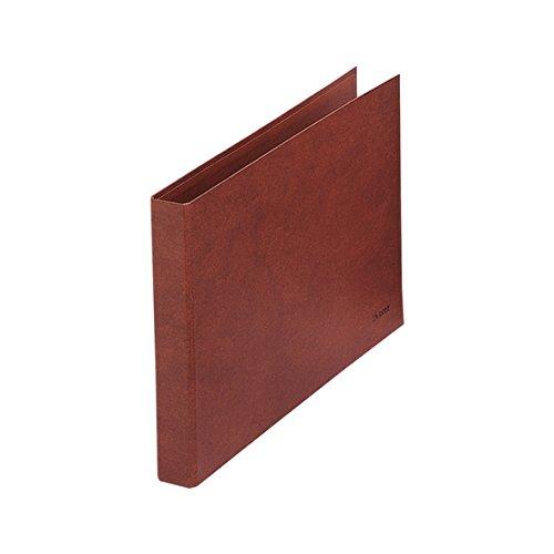 Dohe 9558 - Carpeta cuero forrado 2 anillas de 25 mm, folio apaisado