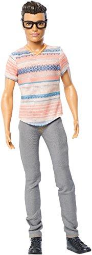 Mattel Barbie DMF41 - Modepuppe, Fashionistas Freund mit Brille