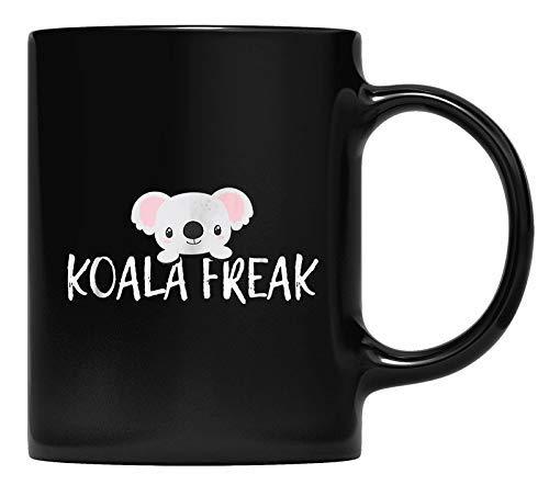 N\A Taza Koala Freak Amante del Oso Koala tmug Animal Gift