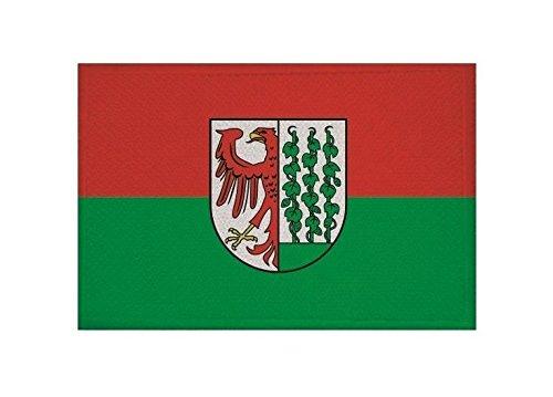 U24 Aufnäher Gardelegen Fahne Flagge Aufbügler Patch 9 x 6 cm