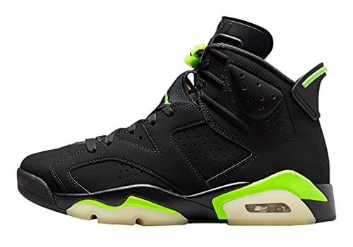 Jordan Scarpe Da Uomo Nike Air 6 Electric Verde CT8529-003, Nero/Verde elettrico, 42 EU