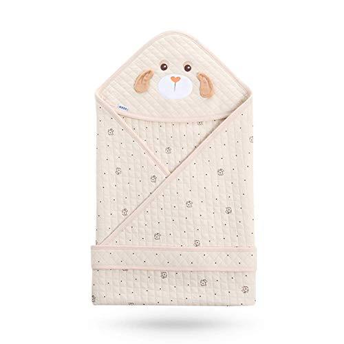 Willlly Sac À Dos Puck Tissu Bébé Chic Casual Barboteuses Coton Pad Bébé Pour Les Nouveau Nés Chaud Convient Pour Toutes Les Saisons Coupe Vent Et Respirant (Color : Brown, Size : Size)