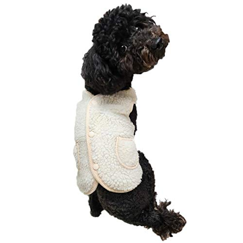YOUTHDOG Cold Weather Fleece Dog Sweater Vest Jacket Durable Wind-Resistant Sweaters for Small Dogs Medium or Large Dogs Chihuahua French Bulldog, Beagle & Labs (Medium)