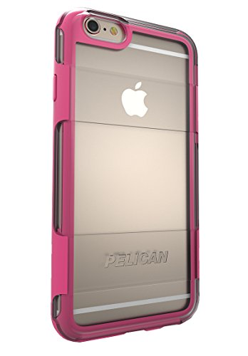 Pelican Adventurer iPhone 6/6S Phone Case (Clear/Pink)