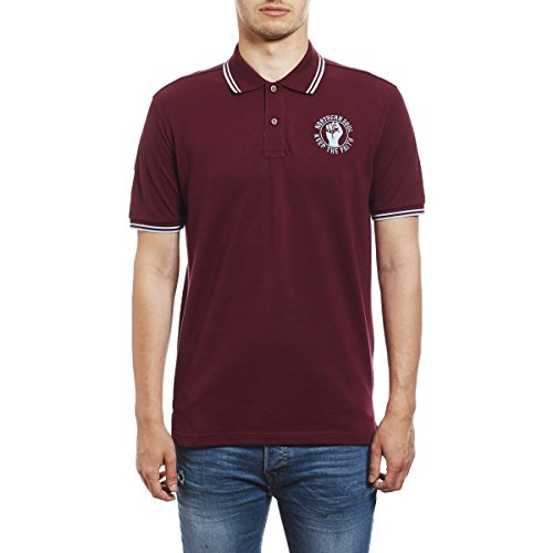 Northern Soul Keep The Faith Embroidered Polo Shirt - Polo para Hombre by 45REVS.