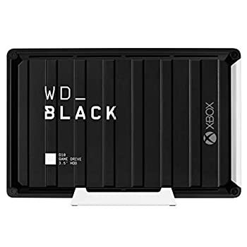 WD_BLACK 12TB D10 Game Drive for Xbox - Desktop External Hard Drive HDD  7200 RPM  with 1-Month Xbox Game Pass - WDBA5E0120HBK-NESN