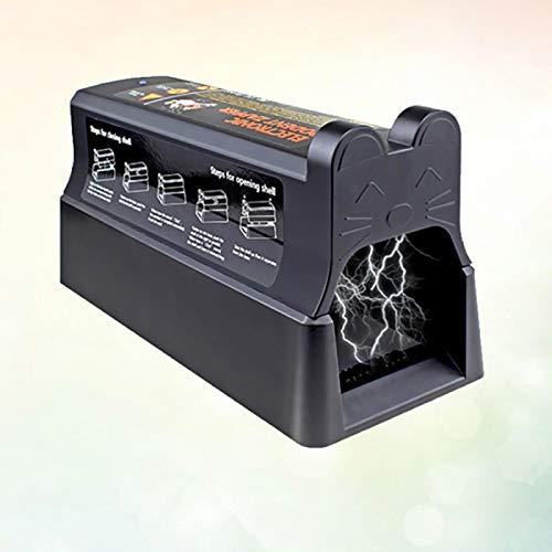 QAZEDC Trampa para Ratas Eléctrica De Alto Voltaje Trampa para Ratas Asesino...