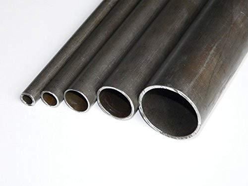 PROFILO BARRA TUBO TONDO TONDA IN FERRO VARI DIAMETRI, LUGNEZZA 3 METRI (diametro esterno 40mm, spessore 1.5 mm)
