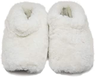 RUPESTRE Indoor Slippers – Handmade of Natural Sheep Wool – Premium Multipurpose Shoes Perfect for Home Use – Hypoallergen...
