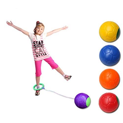 Ysoom Springbälle Spielzeug Bedruckter Hopperball, Hüpfball, Springball, Hopper Ball für Drinnen Draußen Sport, Fitness-Ausrüstung für Kinder Bouncing Ball Spielzeug