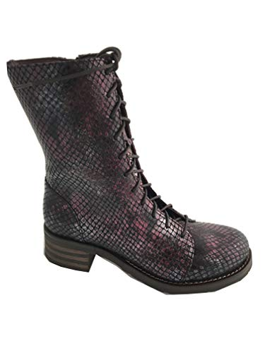Brako Tay Burdeos Military Damen Biker Boot Bordeaux (38 EU)