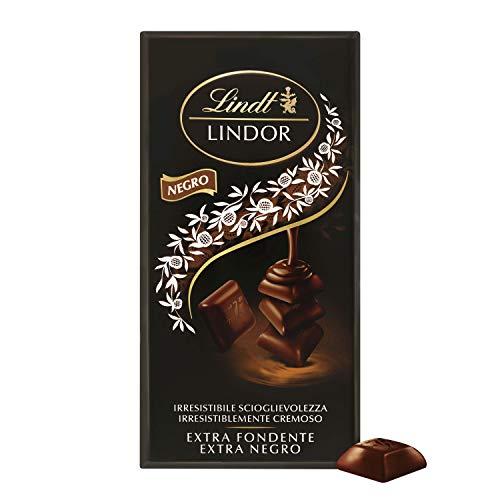 Lindt Lindor Singles Tableta de Chocolate Negro, 60% Cacao, 100g