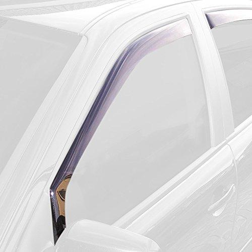 ClimAir CLS0033731D Windabweiser Schwarz passend für Volkswagen Up 2011-/ Seat MII Skoda Citigo 5 türer 2012