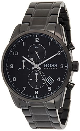 BOSS Quarz Uhr mit Edelstahl Armband 1513785
