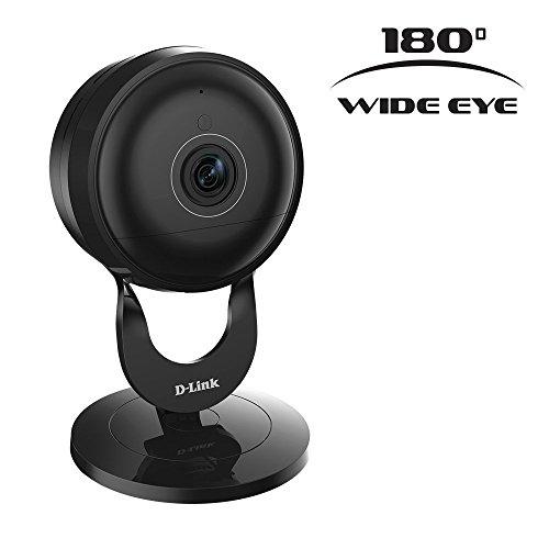 D-Link DCS-2630L Full HD 180-Degree Wi-Fi Camera - Black (Renewed)