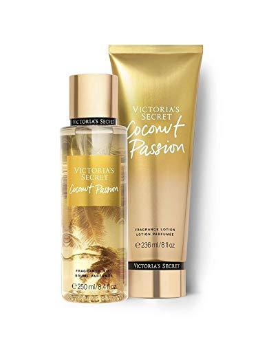 Kit Body Splah + Creme Hidratante Coconut Passion Victoria's Secret 236ml+250ml