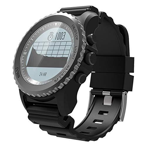 CZX S968 GPS Inteligente Reloj Impermeable IP68 Monitor De Ritmo Cardíaco Reloj Deportivo Podómetro Hombres De Natación Al Aire Libre Smartwatch,B