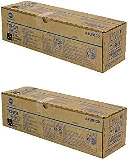 TN616K Genuine Konica Minolta Toner Cartridge 2 Pack, A1U9130, 41500 Page-Yield Per Ctg, Black