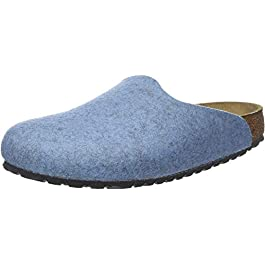 Birkenstock Women's Amsterdam Wool Open Back Slippers
