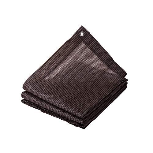 XpFac Store El toldo marrón marrón a Medida, el Dosel de Vela para el jardín de la terraza se Puede Personalizar Durante 5 años. (Color : Brown, Size : 1M X 3M)