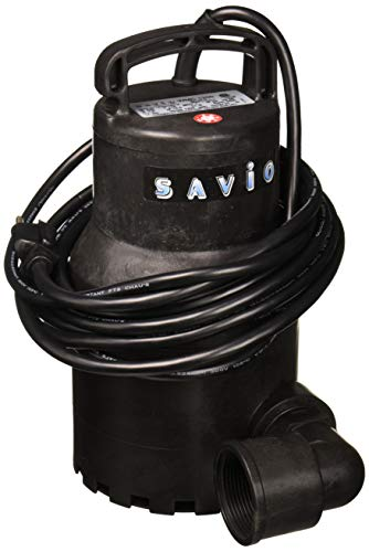 Savio WMC1200 Water Master Clear 1200 Pond Pump, Black