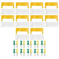 養蜂および養蜂ツールに使用されるハニカムアンチエスケープドアプラスチックスライディングハニカムエントランスドア
