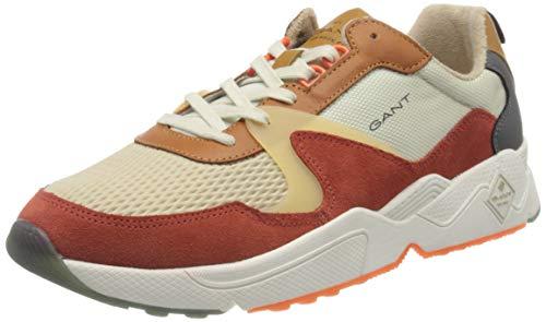 Gant Nicewill, Zapatillas Hombre, Multicolor (Orange Multi G494), 41 EU