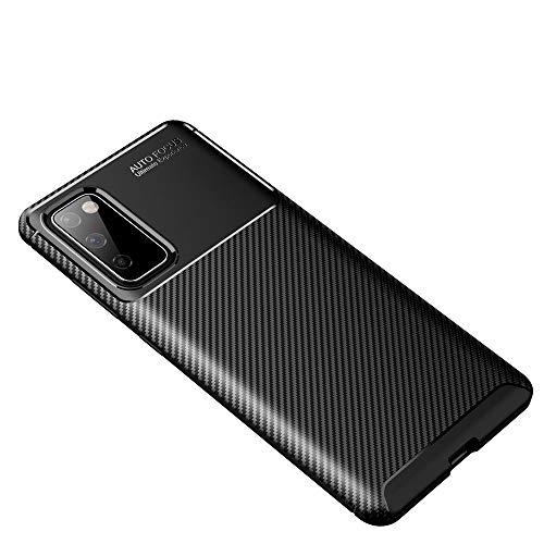 GOGME Passend für Samsung Galaxy S20 FE 5G Hülle, Elegantes Design Gleichzeitig Robust, Has a 360 Grad Schock Kratz Stoßfänger Schutzschicht. Schwarz