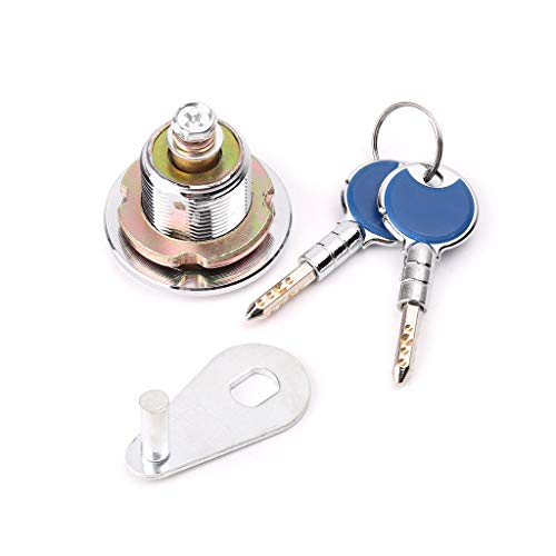 CARRYKT Super Security Safe Deposit Box Anti-Theft Lock with Encryption Keys Copper Cylinder