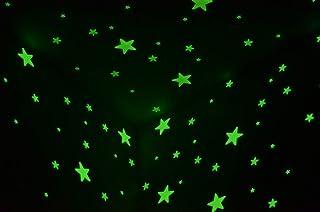 100 Pcs Home Wall Glow In The Dark Stars Stickers Kids Bedroom Nursery Room Decoration