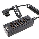 原文 Alvin's Cables Cable Divisor D-Tap con Interruptor de...
