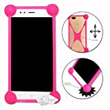 Shockproof Silicone Bumper Case for Huawei G7 Plus Pink