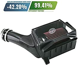 S&B Filters 75-5027 Cold Air Intake for 1994-1997 Ford Powerstroke 7.3L (Oiled Cleanable, 8-ply Cotton Filter)