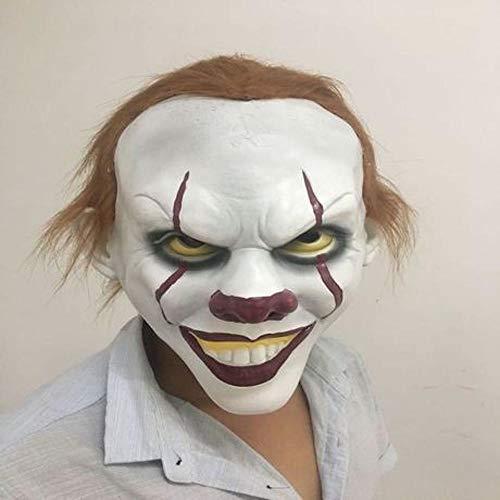 LWW Masker Masquerade, Clown terug ziel masker film rond Halloween cos horror masker clown masker