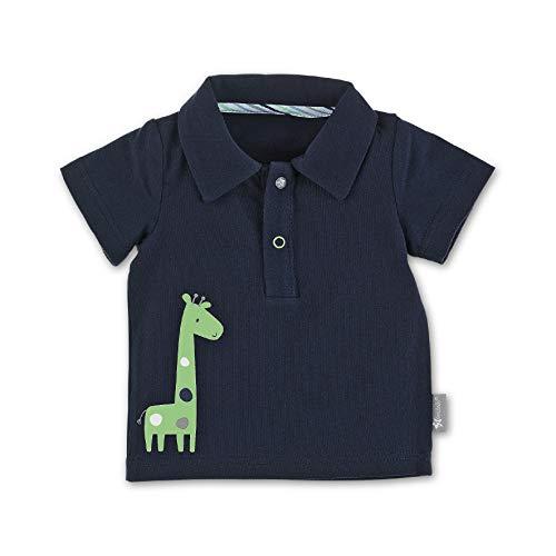 Sterntaler Baby-Jungen Polo Shirt Poloshirt, Blau (Marine 300), 3-6 Monate (Herstellergröße: 56)