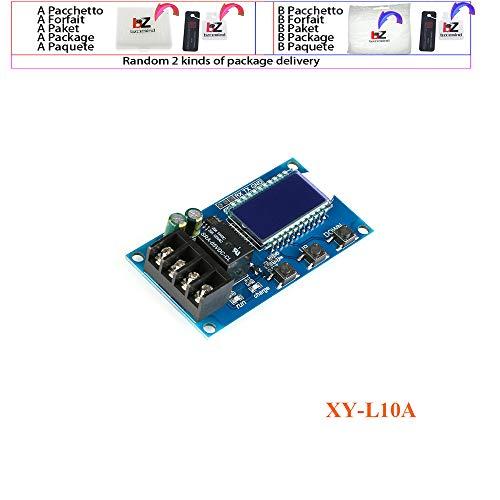 6-60v 10A Placa de protección del controlador del módulo de control de carga de la batería de litio con interruptor de protección de sobrecarga XY-L10A