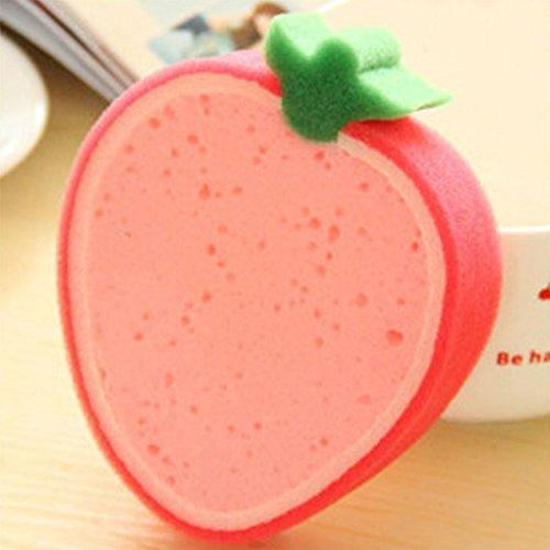 Weilifang Kreative Obst Thick Schwammtuch Starke Schwammtuch Obst Shaped Dekontaminationswaschtuch waschendes Tuch Non Stick Öl Sponge