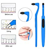4 Pack Tooth Stain Remover for Fighting Tartar Teeth Stains Teeth Polishing,Blue