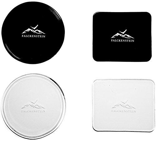 4er Universal Fixate Gel Anti-Rutsch-Pad • optimal für alle Oberflächen & Handy + Navi-Halterung • zuverlässiger Halt durch Nanotechnologie • 100% Sticky Anti-Slip Klebepad