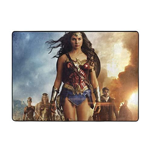 KANKANHAHA Wonder Woman - Felpudo antideslizante