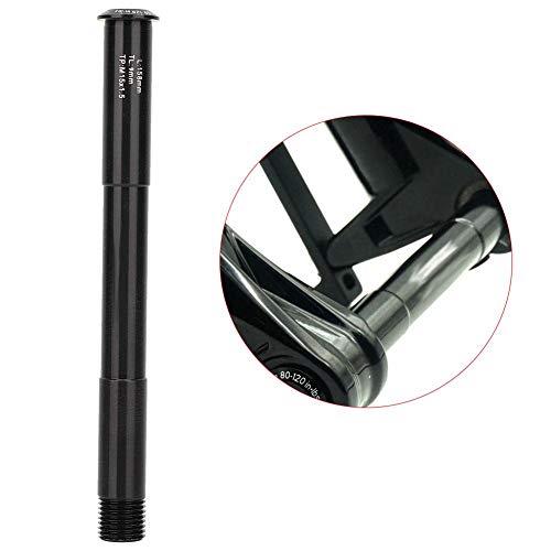 Keen so Vorderachsgabel, Keenso-Schnellspanner-Vorderradgabel aus Aluminiumlegierung Steckachs-Spieß 110 x 15 mm für Rockshox