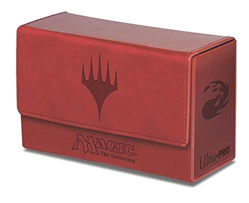 Ultra Pro Magic The Gathering: Dual FlipBox - Red Mana (Matte Finish)