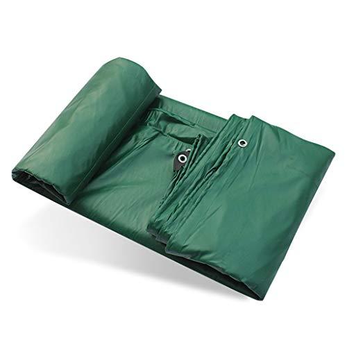 Patios Verde Grueso del PVC a Prueba de Polvo Impermeable a Prueba de Aceite de Tela al Aire Libre toldo de Tela de Lona 500G / , Universal en Todas Las Estaciones (Size : 3m×4m)